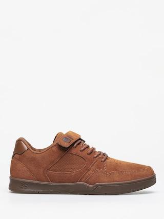 Es Accel Slim Plus Shoes (brown/gum)