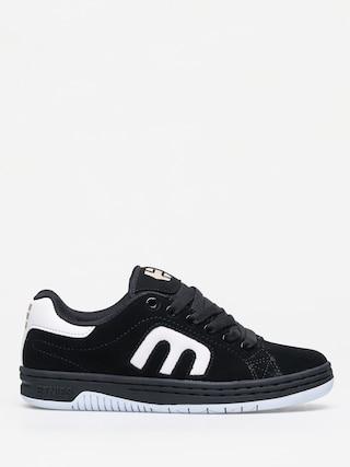 Etnies Callicut Shoes Wmn (black/white/gold)