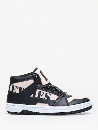 Etnies Mc Rap High Shoes Wmn (black/pink)