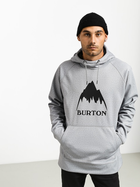 Burton Crown Bndd HD Hoodie (gray heather)