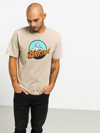 Burton Retro Mtn T-shirt (plaza taupe)