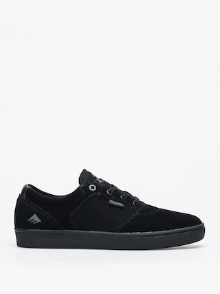 Emerica Figgy Dose Shoes (black/black/gum)