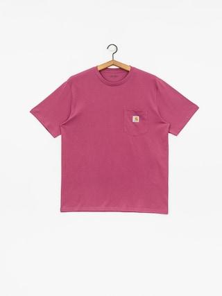Carhartt WIP Pocket T-shirt (dusty fuchsia)