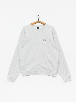 Stussy Basic Sweatshirt (ash heather)