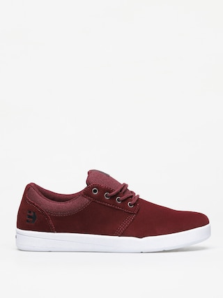Etnies Score Shoes (burgundy/white)
