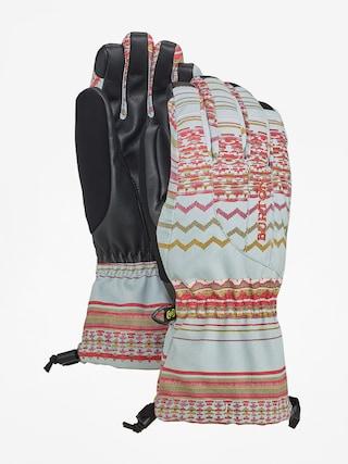 Burton Profile Glv Gloves Wmn (aqua gray revl print)