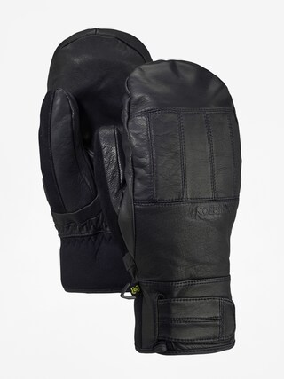 Burton Gondy Gore Lthr Mt Gloves (true black)