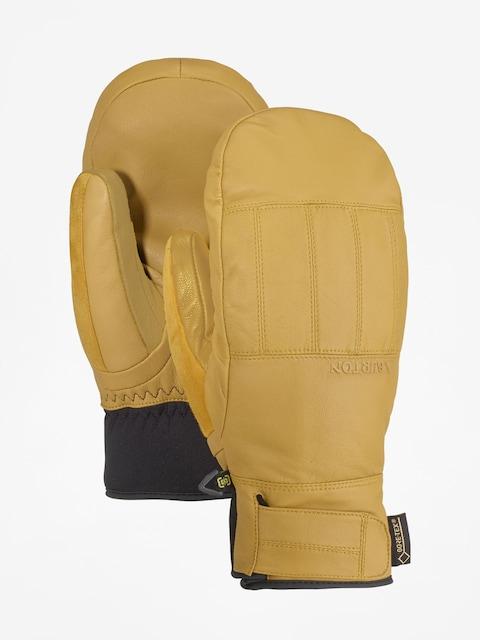 Burton Gondy Gore Lthr Mt Gloves (raw hide)