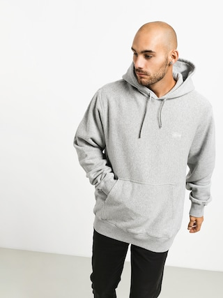 Stussy Stock Logo HD Hoodie (grey heather)