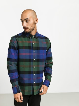 Stussy Classic Oxford Shirt (green plaid)