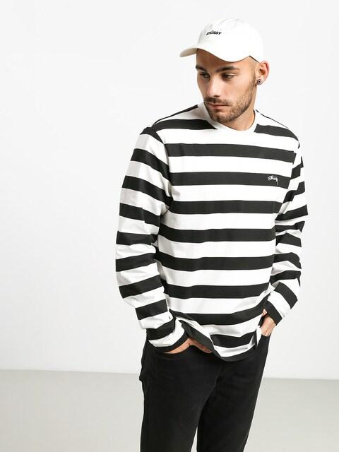 Stussy Printed Stripe Longsleeve (black)