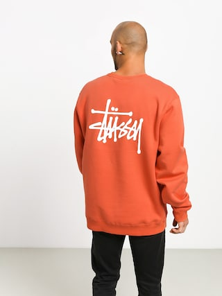 Stussy Basic Sweatshirt (orange)