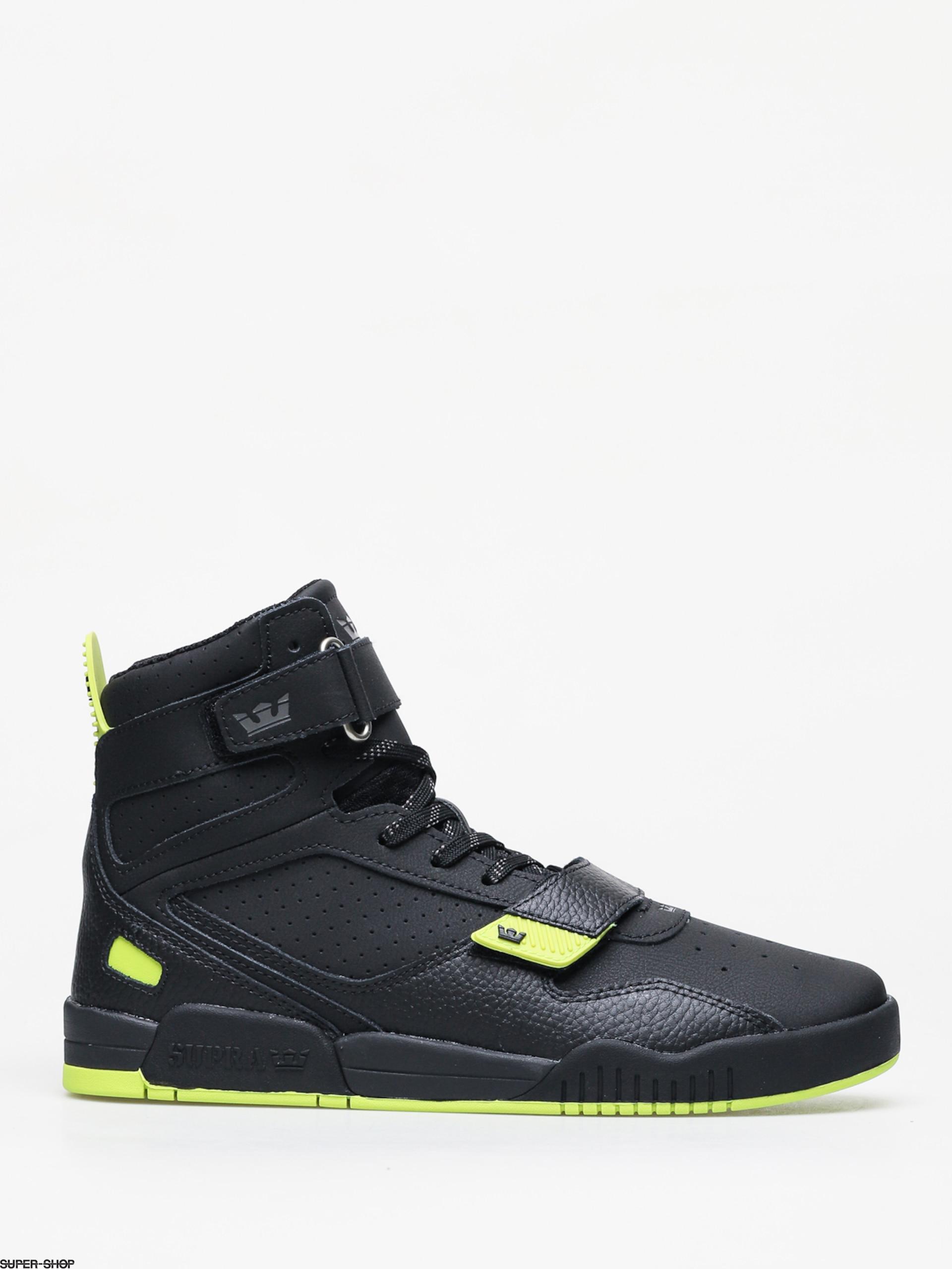 Supra Breaker Shoes (black/lime black)