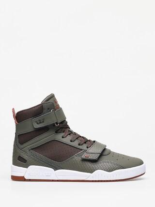 Supra Breaker Shoes (olive/demitasse white)