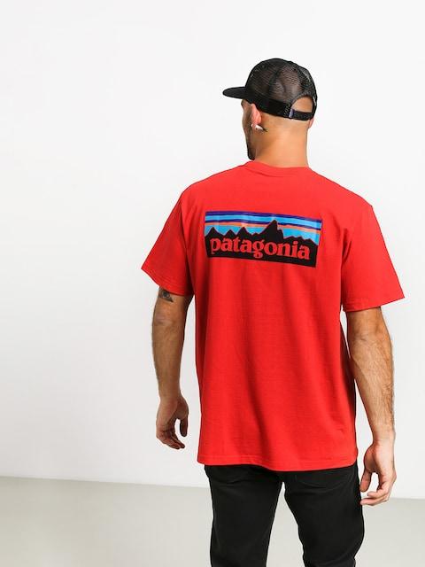 Patagonia Logo Responsibili T-shirt (fire)