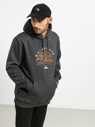 Quiksilver Big Logo Snow HD Hoodie (black heather)