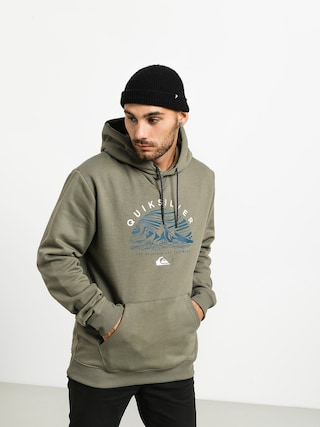 Quiksilver Big Logo Snow HD Hoodie (agave green)