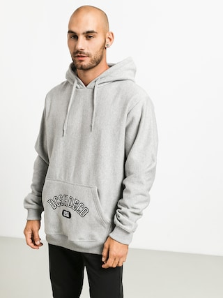 DC Arched HD Hoodie (grey heather)