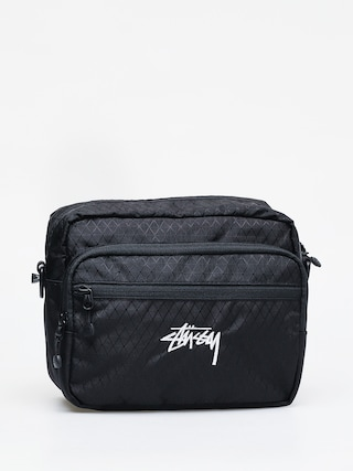 Stussy Diamond Ripstop Bag (black)