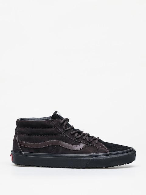 Vans Sk8 Mid Reissue Ghillie MTE Shoes (chocolate torte/black)