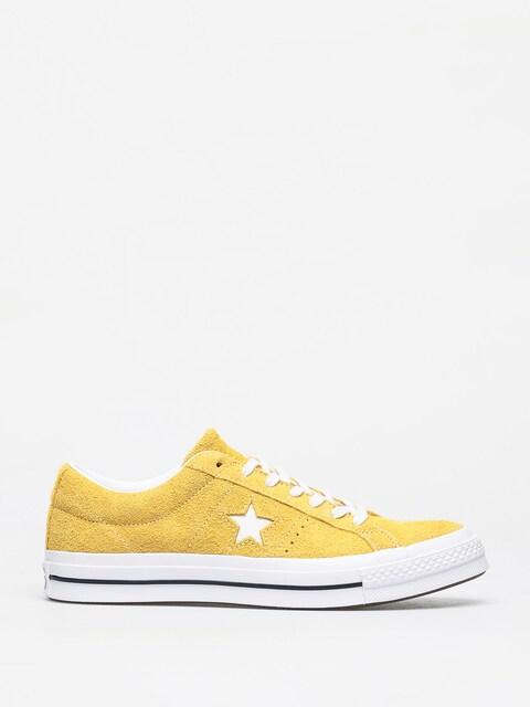 Converse One Star Ox Chucks (gold dart/white/black)