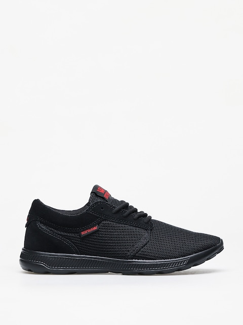 Supra Hammer Run Shoes (black/risk red black)