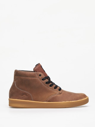 Emerica Romero Laced High Shoes (brown/black/gum)