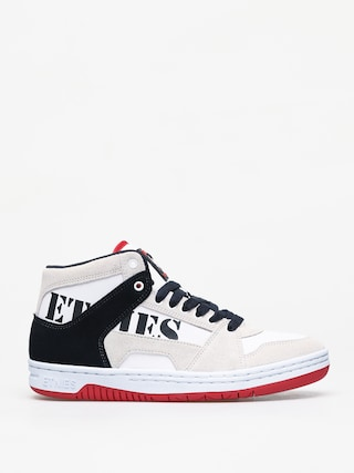 Etnies Mc Rap High Shoes (white/navy/red)