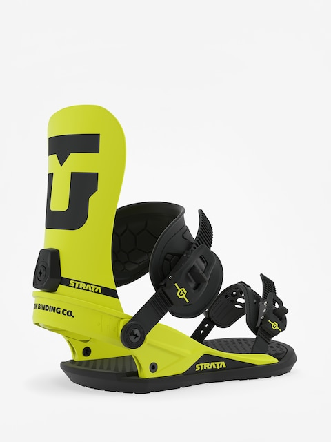Union Strata Snowboard bindings (hazard yellow)
