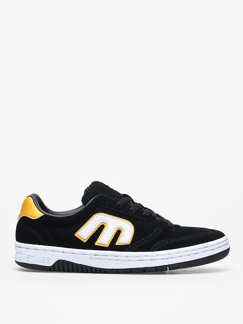Etnies Lo Cut Shoes (black/white/yellow)