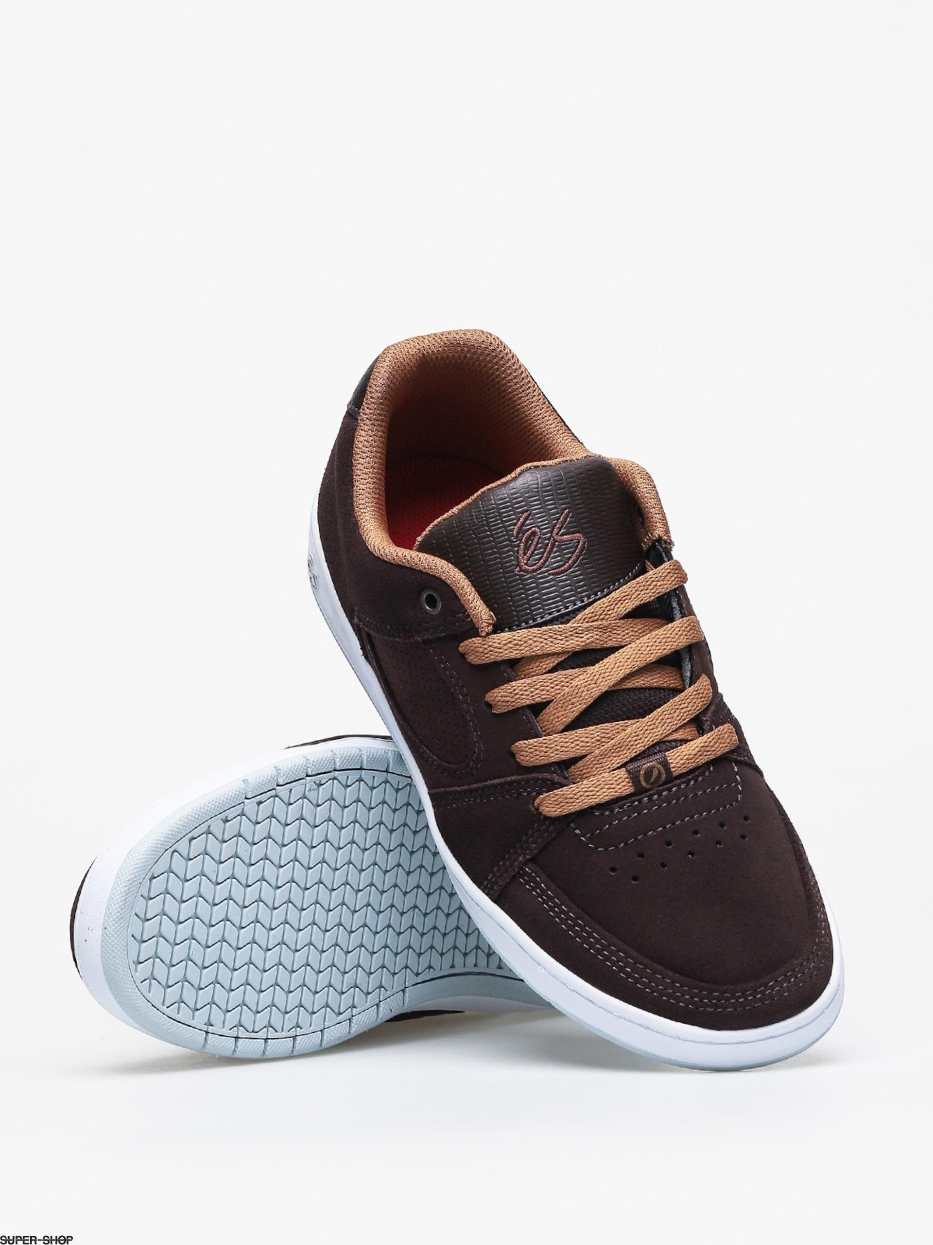 Es Accel Slim Shoes (brown/blue)