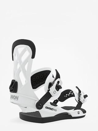 Union Contact Pro Snowboard bindings (white)