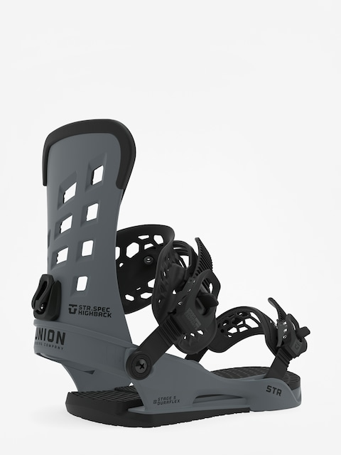 Union Str Snowboard bindings (dark grey)