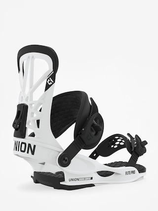 Union Flite Pro Snowboard bindings (white)