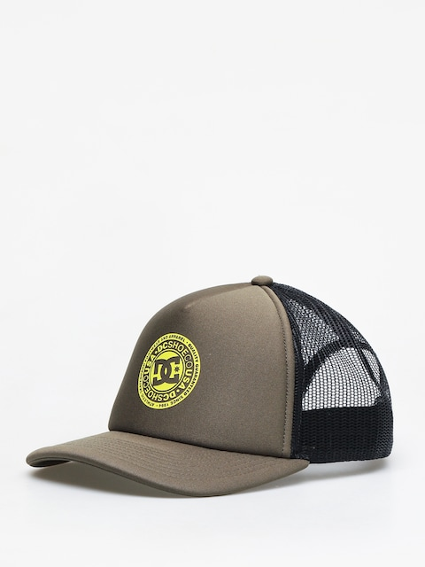 DC Vested Up Cap (fatigue green/safety)