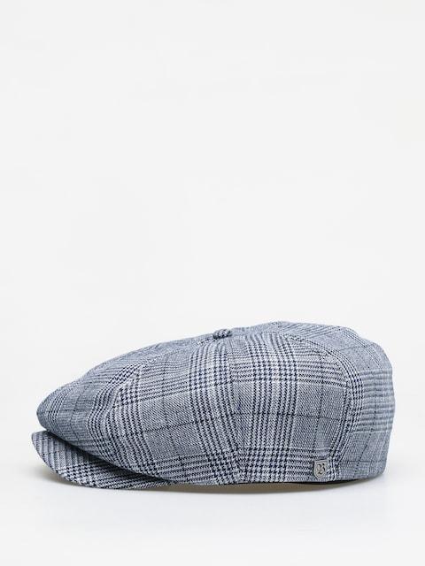 Brixton Brood Snap ZD Flat cap (washed navy/aluminum)