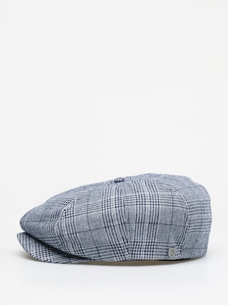 Brixton Brood Snap ZD Flat cap (washed navy/aluminum)