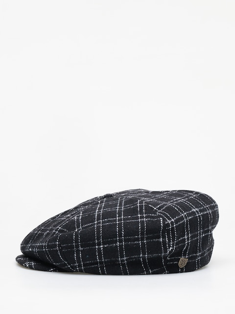 Brixton Ollie ZD Flat cap (black/bone)