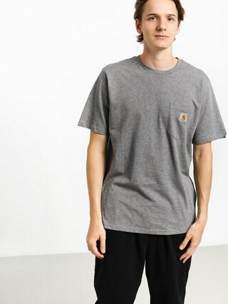 Carhartt WIP Pocket T-shirt (dark grey heather)