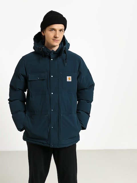 Carhartt WIP Alpine Coat Jacket (duck blue/black)