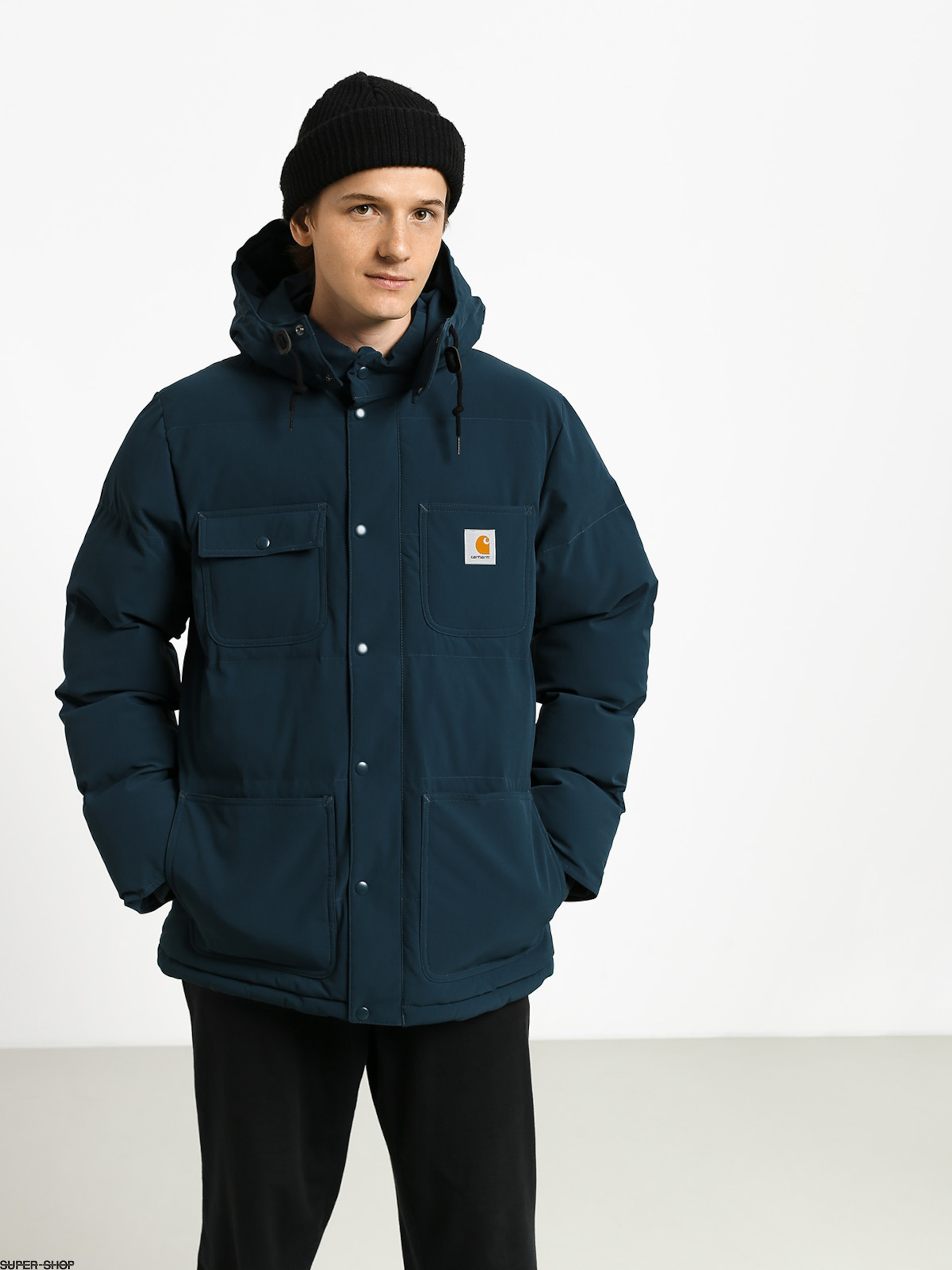 Carhartt WIP Alpine Coat Jacket (duck blueblack)
