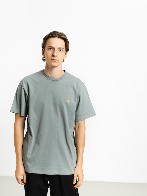 Carhartt WIP Chase T-shirt (cloudy/gold)