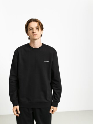 Carhartt WIP Script Embroidery Sweatshirt (black/white)