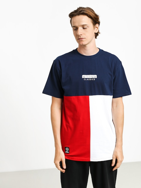 MassDnm Capital T-shirt (navy)