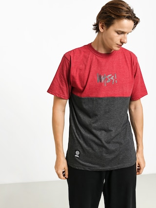 MassDnm Result T-shirt (heather claret)