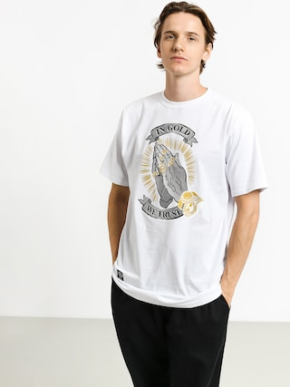 MassDnm In Gold We Trust T-shirt (white)