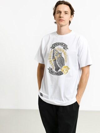 MassDnm In Gold We Trust T-shirt (white)