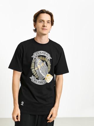 MassDnm In Gold We Trust T-shirt (black)