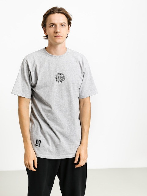 MassDnm Base Small Logo T-shirt (light heather grey)