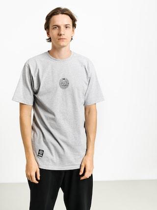 MassDnm Base Small Logo T-shirt (light heather grey)